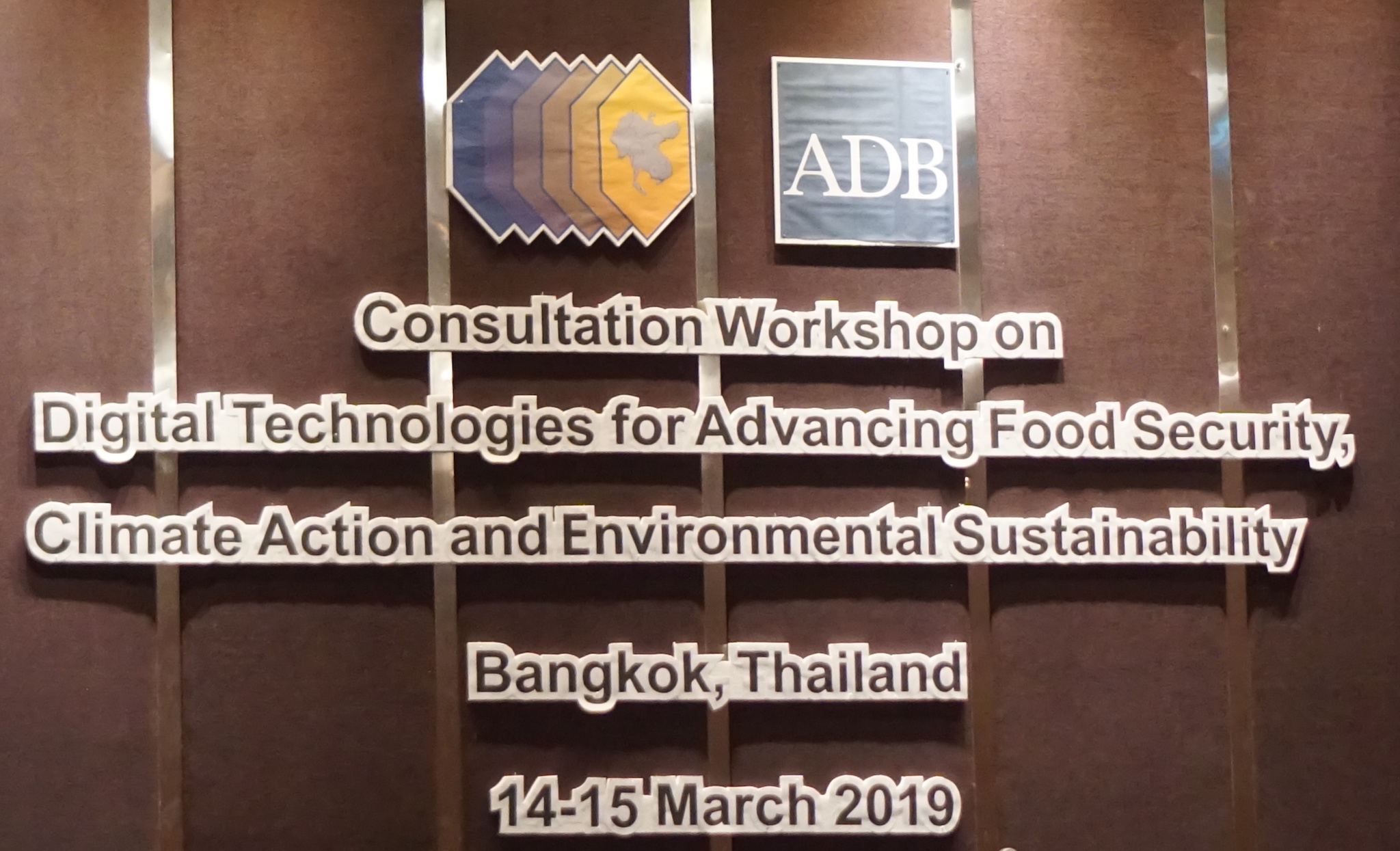 SIVIRA was invited to an international workshop sponsored by the Asian Development Bank and gave a lecture.
